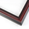 "1-1/2 "" Mahogany Color Finish w/Bead"