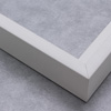 Canvas Floater, White 1-7/8  inch